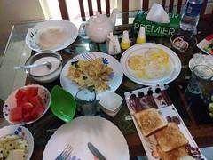 Breakfast at Heavenly Homestay