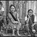 3 generations of Khasi women watch traffic in Shillong by stevebfotos
