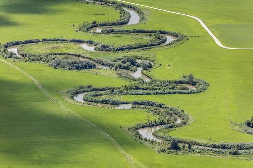 River Vils At Frontenhausen, Bavaria