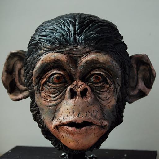 Monkey Cake by Liz Kraatz of Liz's Cake Art