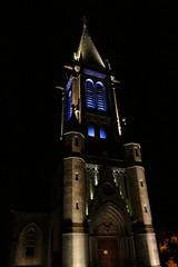L'église de St Just, la nuit