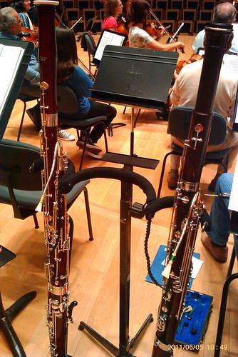 Basson et fagott à l'auditorium
