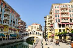 Qanat Quartier, a Venice in The Pearl-Qatar