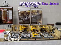 Seven Days to BrickFair New Jersey