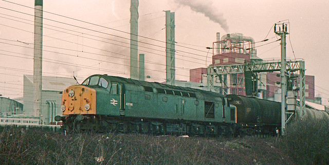40086 Warrington Bank Quay 23rd February 1984.
