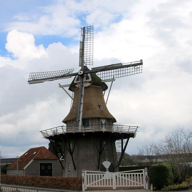 Nederland - Friesland - Noordwolde - Windlust - 1859