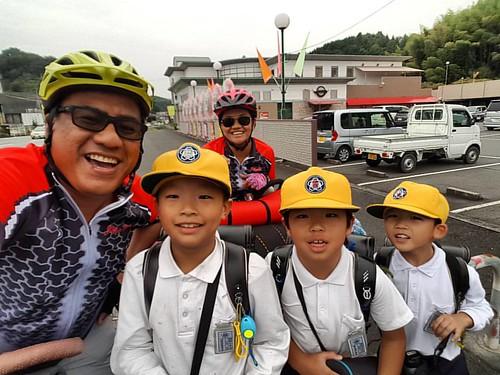 Selfie, Gambatte! #bikepackingJapan  #bikepackingPhilippines