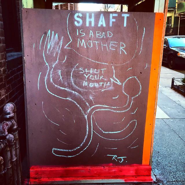 Graffiti on 15th St