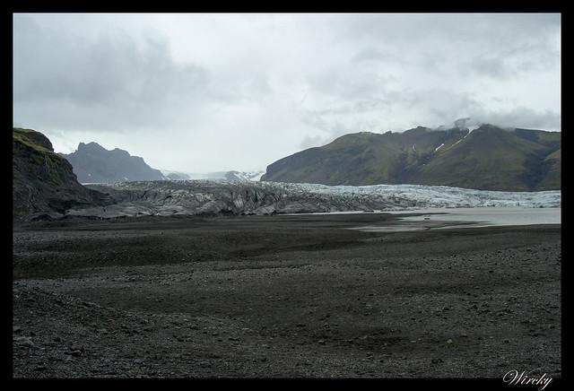 Visita a la lengua glaciar Skaftafellsjökull