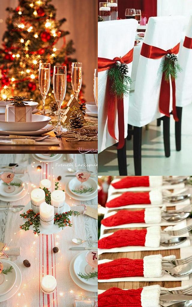 Inspiración para decorar la mesa esta Navidad