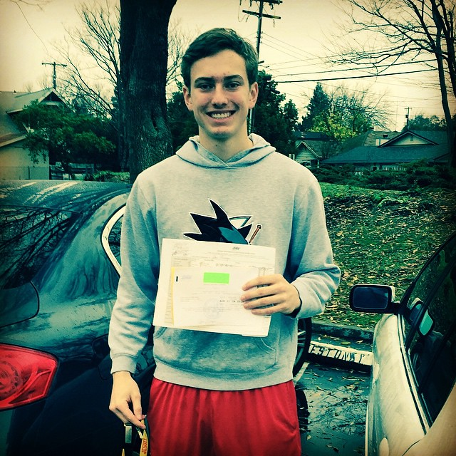 new licensed driver!