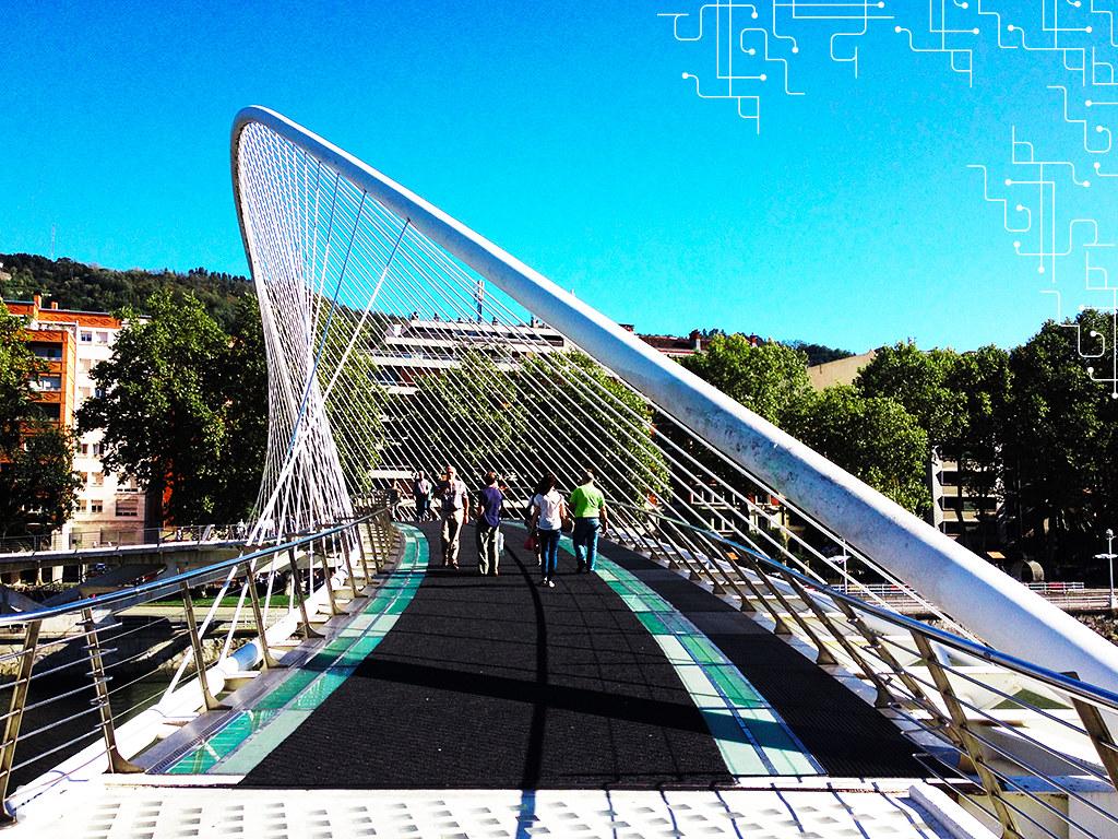 Piso da Zubizuri coberto com um tapete para evitar que as pessoas caíssem | Bilbao