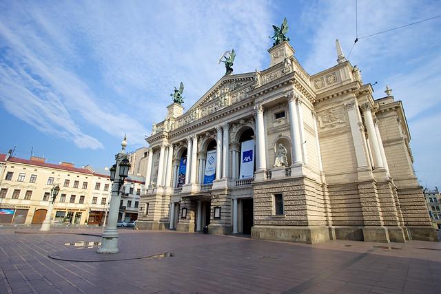 Opera. Lviv, Ukraine