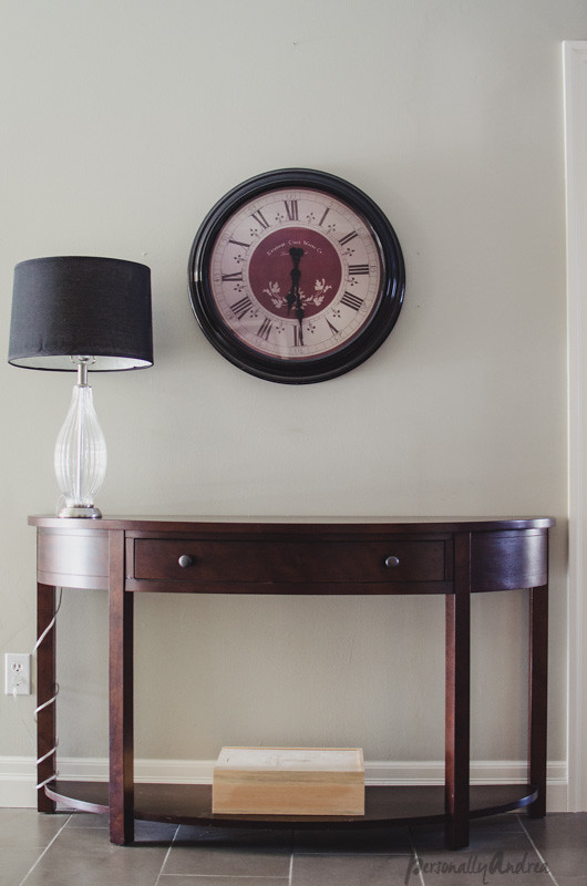 Console Table - before