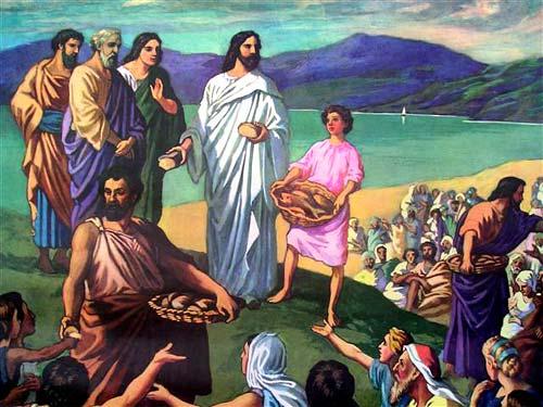 Mt 14,13-21: Đức Giêsu ...