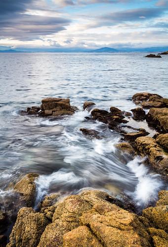 españa costa canon mar agua mediterraneo paisaje dia amanecer cielo nubes nublado dslr cala rocas ceuta largaexposicion 60d efectoseda carloslarios