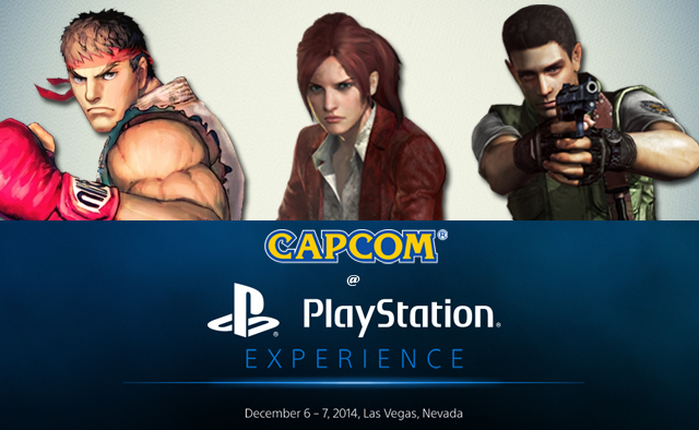 Capcom at PS Experience