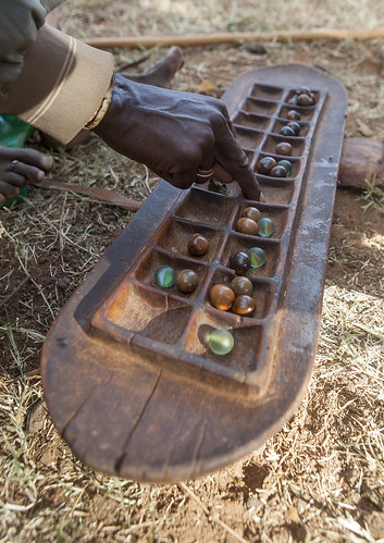 Borana Tribe Traditional Game Board, Yabelo, Ethiopia