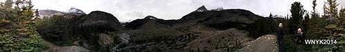 Bow Glacier Falls Pano