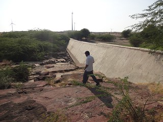 The anicut which helped in groundwater recharge