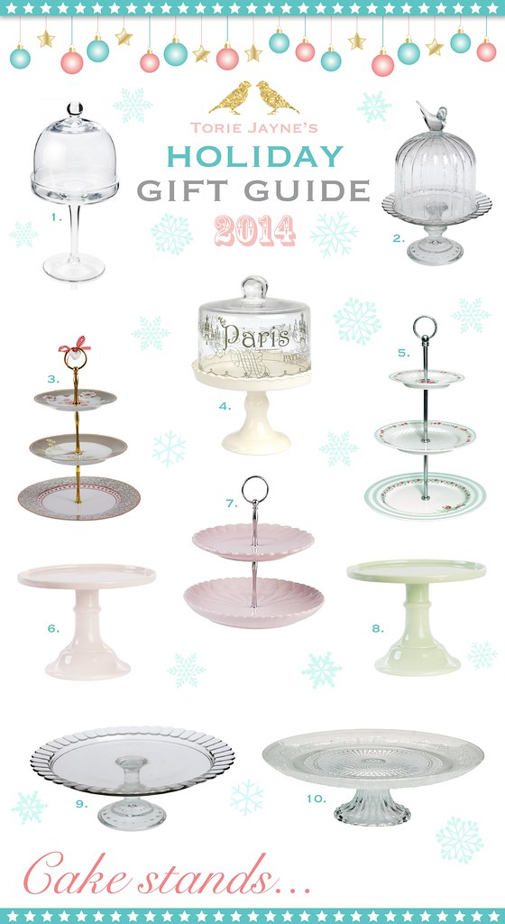 Cake stands...Gift Guide 2014