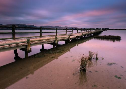 sunset newzealand clouds jetty estuary newbrighton jamesgibson