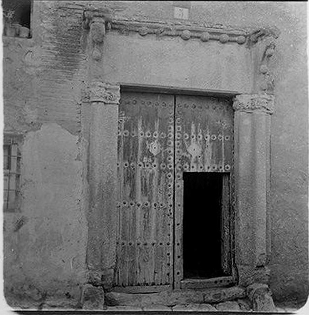 Casa del Greco hacia 1900. Fotografía de Augusto T. Arcimis © Fototeca del IPCE, MECD. Signatura ARC-0728_P