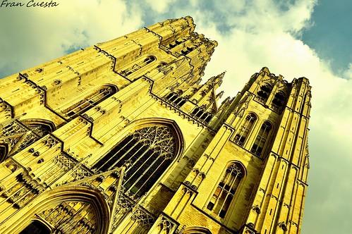 Portada St.Michel y St. Gudula, Bruselas