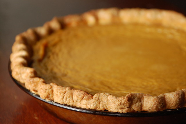 Traditional Pumpkin Pie with Homemade Butter Crust
