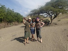 with our awesome guide Fredy