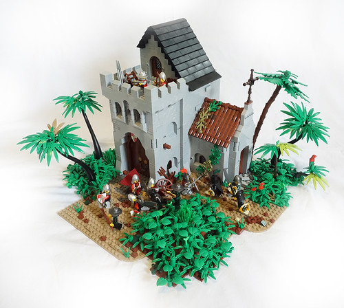 Battle at the Monastery Outpost