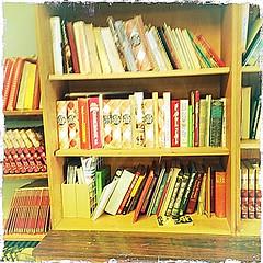 Hipstamatic Bookshelf