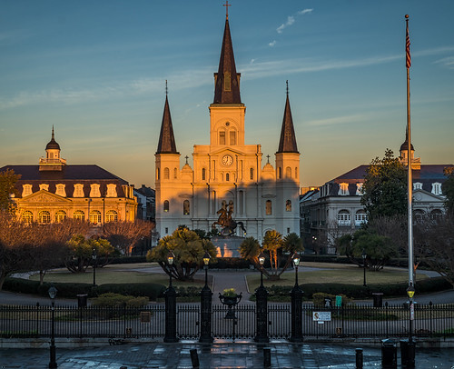 St. Louis Cathedral by Geoff Livingston