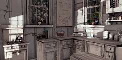 Dust Bunnys Lily Cottage: KITCHEN - LEFT