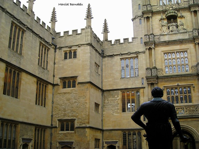 UK - England - Oxford - Bodleian Library