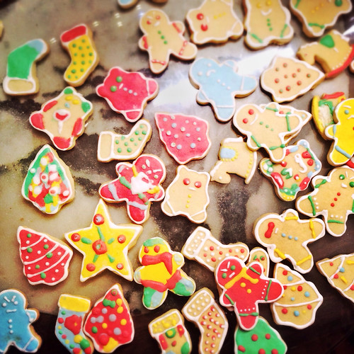 Christmas, egg white icing, pasteurized egg, recipe, rolled cookies, royal icing, sugar cookies, 糖餅乾, 聖誕節,