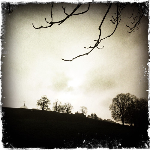 Usk Valley near Bettws Newydd