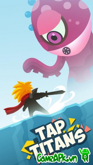 Tap Titans v1.3.3 hack tiền cho Android