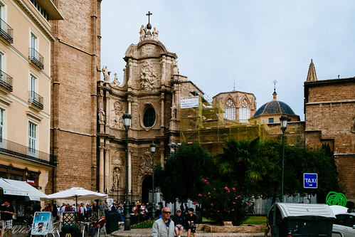 Valencia Cathedral and Basilica de la Virgen de los Desamparados