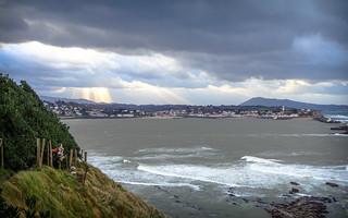 Temps gris sur la côte basque - Saint-Jean-de-Luz/Donibane-Lohitzun (64)