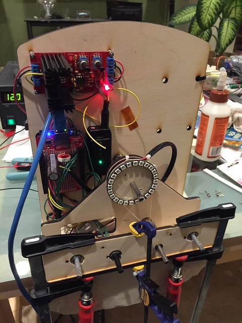 Adding backlight and amplifier mute control.