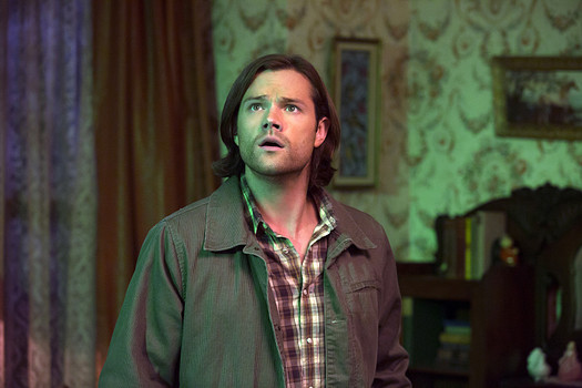 Jared Padalecki as Sam Winchester in Supernatural 10x11