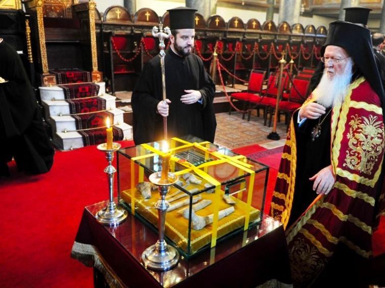 Sfinte Moaste ale Sfantului Grigorie Teologul la Constantinopol