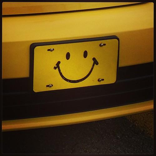 ... because I'm happy 🎶 ....  #tgit #clapalong #yyc #happy #happyface #yellow