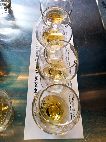 Wigle Whiskey - Wodd Finish Flight