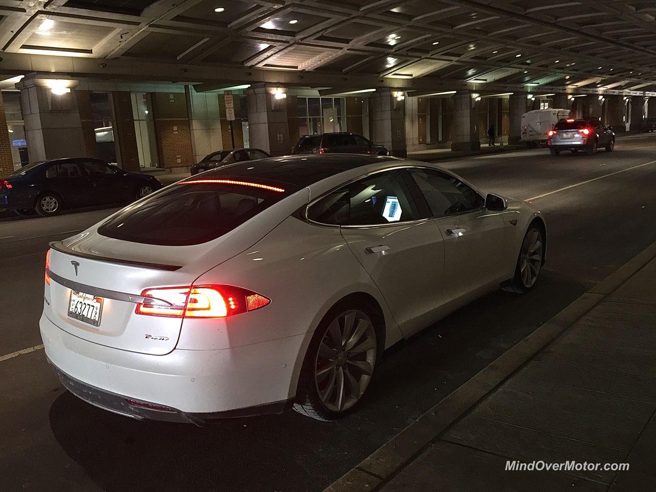 Tesla Model S P85D Rear