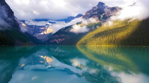Placid Morning Light  - Lake Louise
