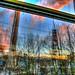 Trains Filthy Window Reflection (Explored) by @ansomarry