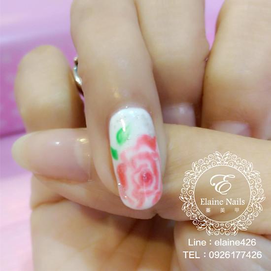 1040107暈染玫瑰