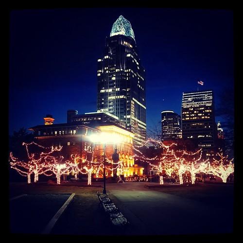 Lytle Park in downtown Cincinnati...